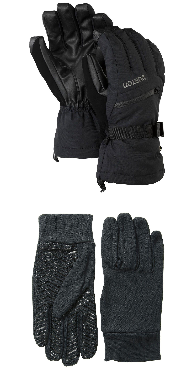 Mens ski gloves xxl - Gloves And Mittens 62172 Burton Mens 2017 Snowboard Snow Gore Tex Glove True Black