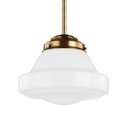 Led Saturn Alcott Pendant With White Opal Glass Schoolhouse Pendant Lights Pendant Light Led Pendant Lights