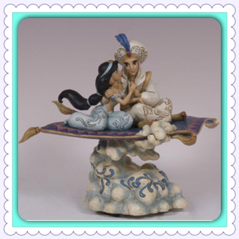 Aladdin and Jasmine wedding cake topper. Enough said! So ...