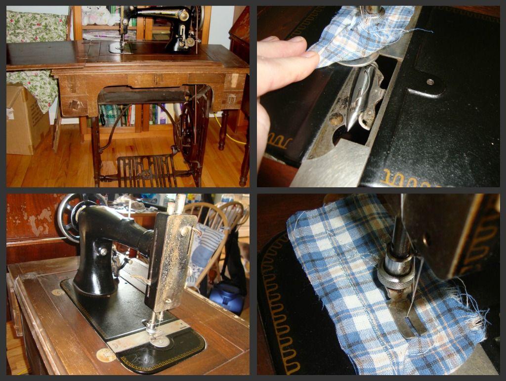 Wards Brunswick Treadle Buy Http Www Thriftyfarmgirl Com Sewing Machines Html Sewing Machine Home Appliances Brunswick