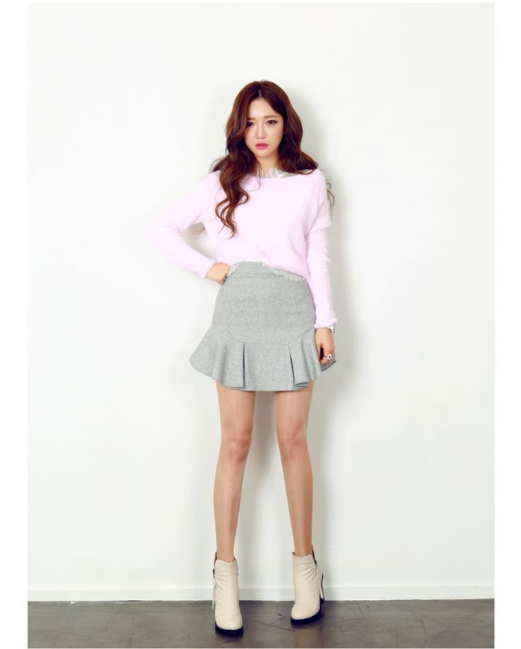 wonderful korean cute outfit for female people