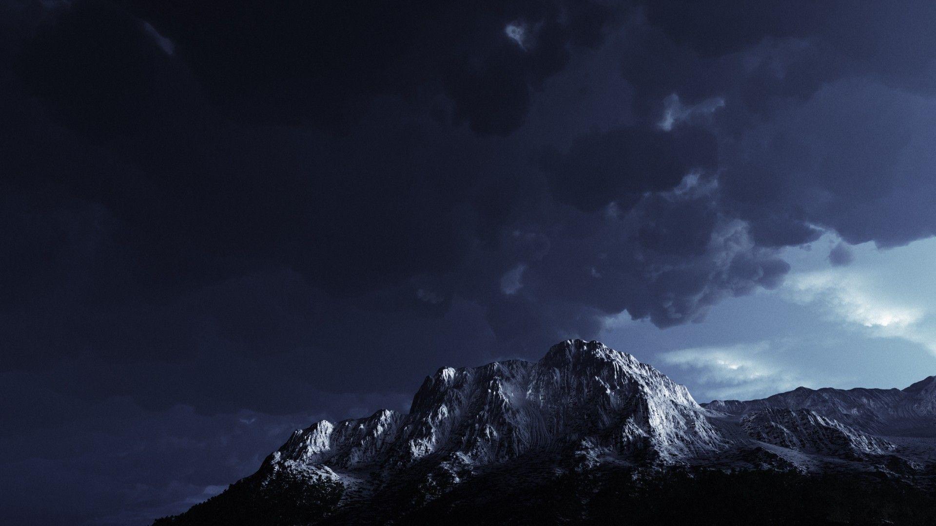 dark storm mountain wallpaper eslam pinterest donald trump