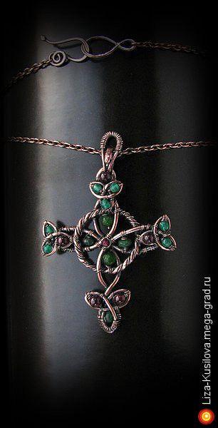 Кельтский крест - украшения из металла, авторские кулоны, подвески. МегаГрад - город мастеров и художников