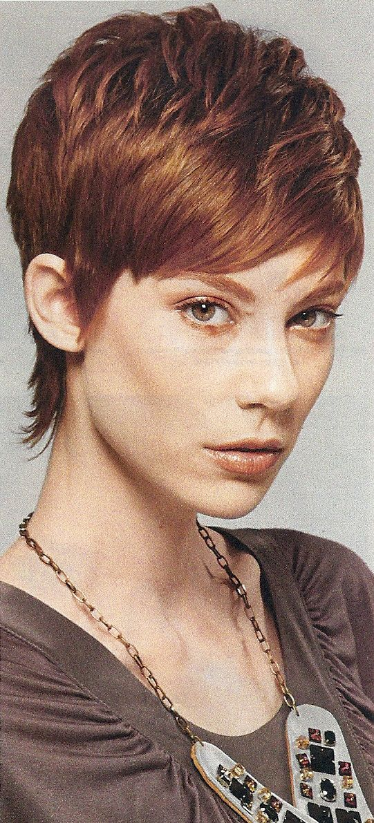 red pixie haircut - Google Search