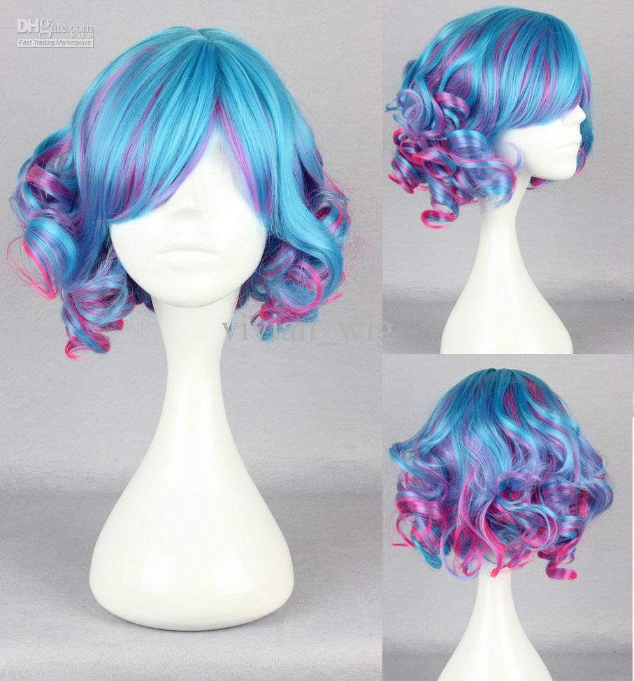 Cheap Lolita Wigs - Best Pink Women Girls Lolita Curly Cosplay Anime Wigs Online with $14.14/Piece | DHgate