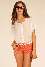 Marcy Blouse - White