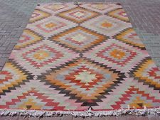 "Anatolia Turkish Classic Antalya Kilim 76,7"" X 129,5"" Area Rug Carpet"
