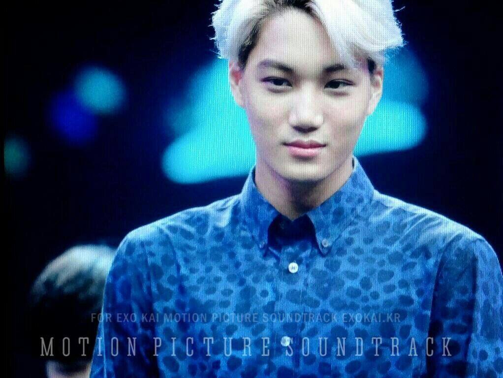 [PREVIEW] 140611 Kai @ Happy Camp Recording (cr. MPST) pic.twitter.com/yx6ayN3gsn