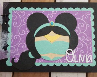 Personalized Disney Autograph Book Inspired by Cinderella