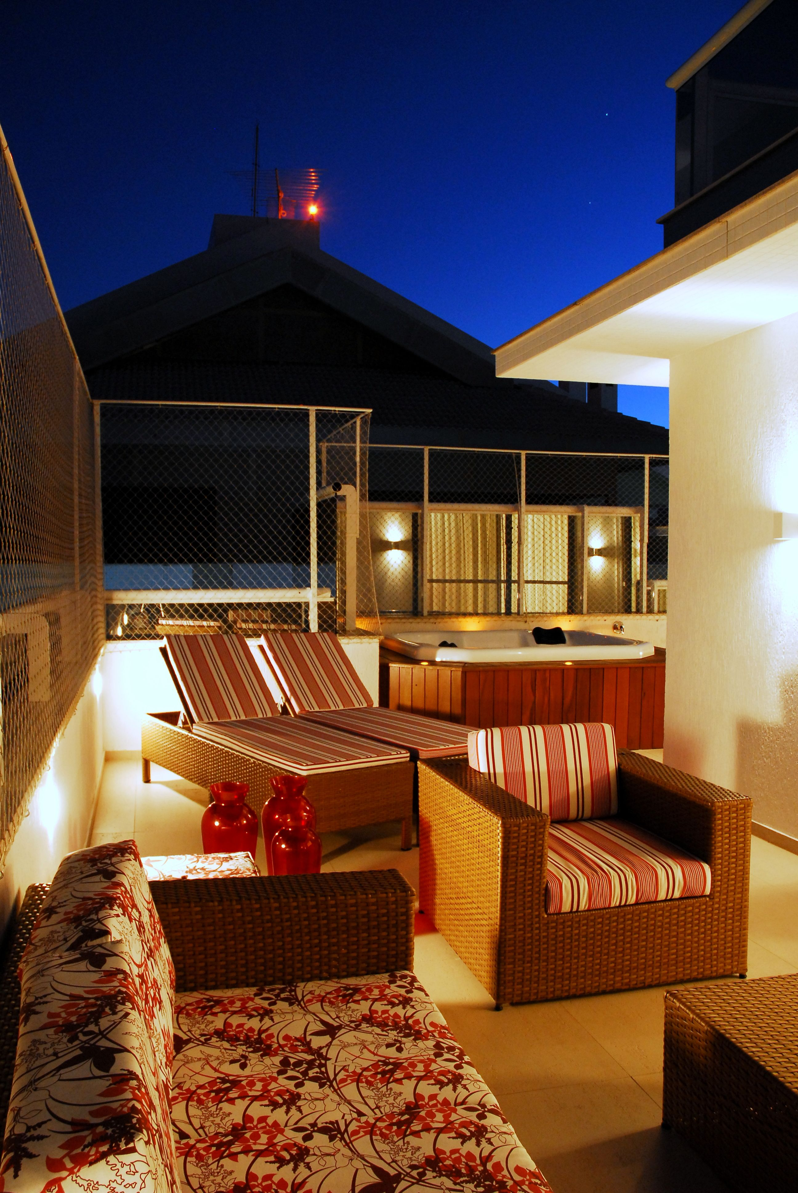 Cobertura em Jurerê Internacional, Florianópolis, SC - Mariana Pesca Arquitetura