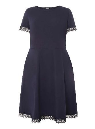 Womens Belted Lace Fit and Flare Dress Dorothy Perkins All Seasons Available Free Shipping High Quality Extremely For Sale byaWsV