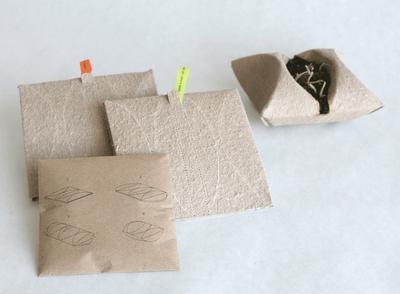 organic recyclable paper carton colour simple