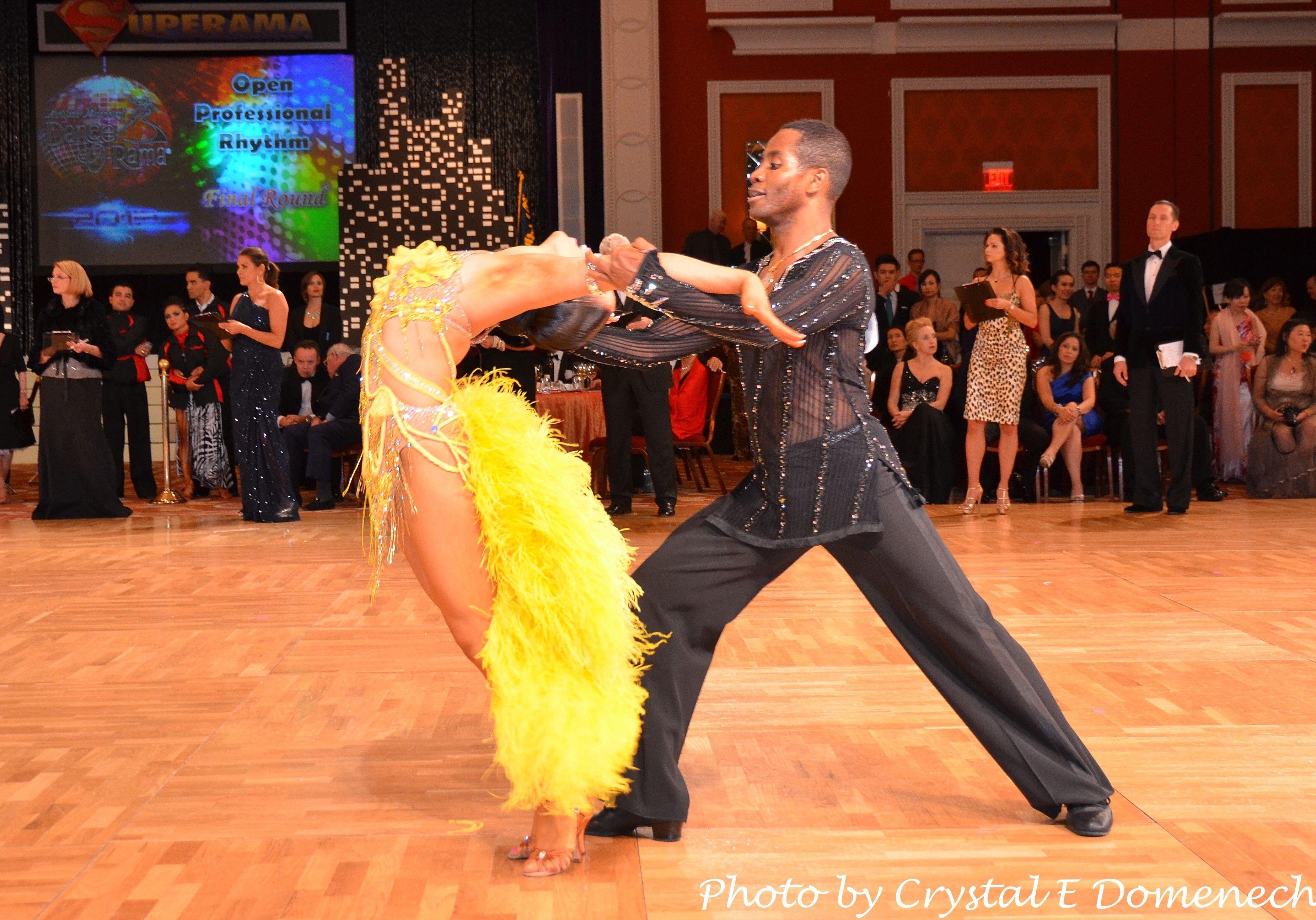 Emmanuel and Liana Ballroom Competition