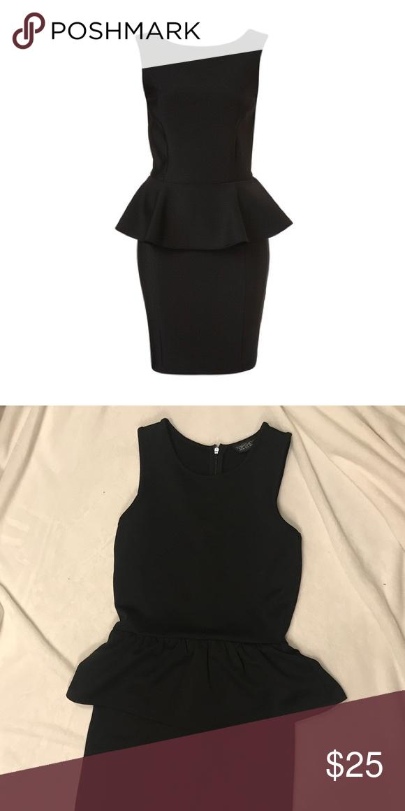 Top Shop Peplum Midi Dress In 2018 My Posh Picks Pinterest