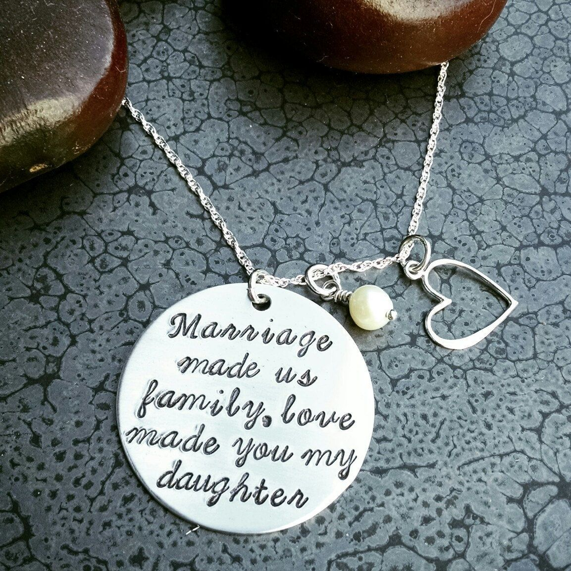 Gift for step daughter mom wedding gift christmas gift