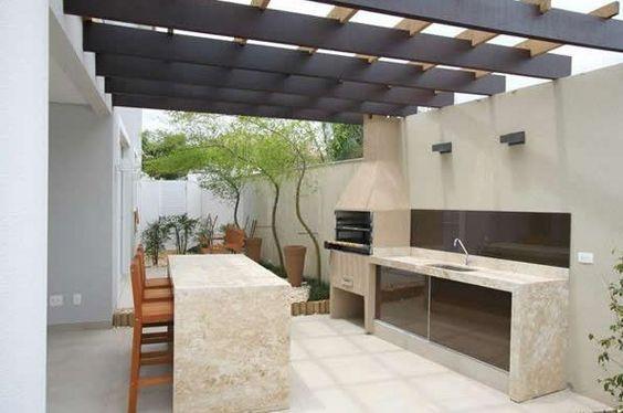 Fotos parrilleros modernos dv en 2019 asadores de for Casa moderna quincho