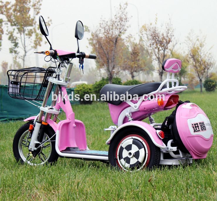 3 wheels tricycle electric bike disabled scooter CE mobility scooter ...