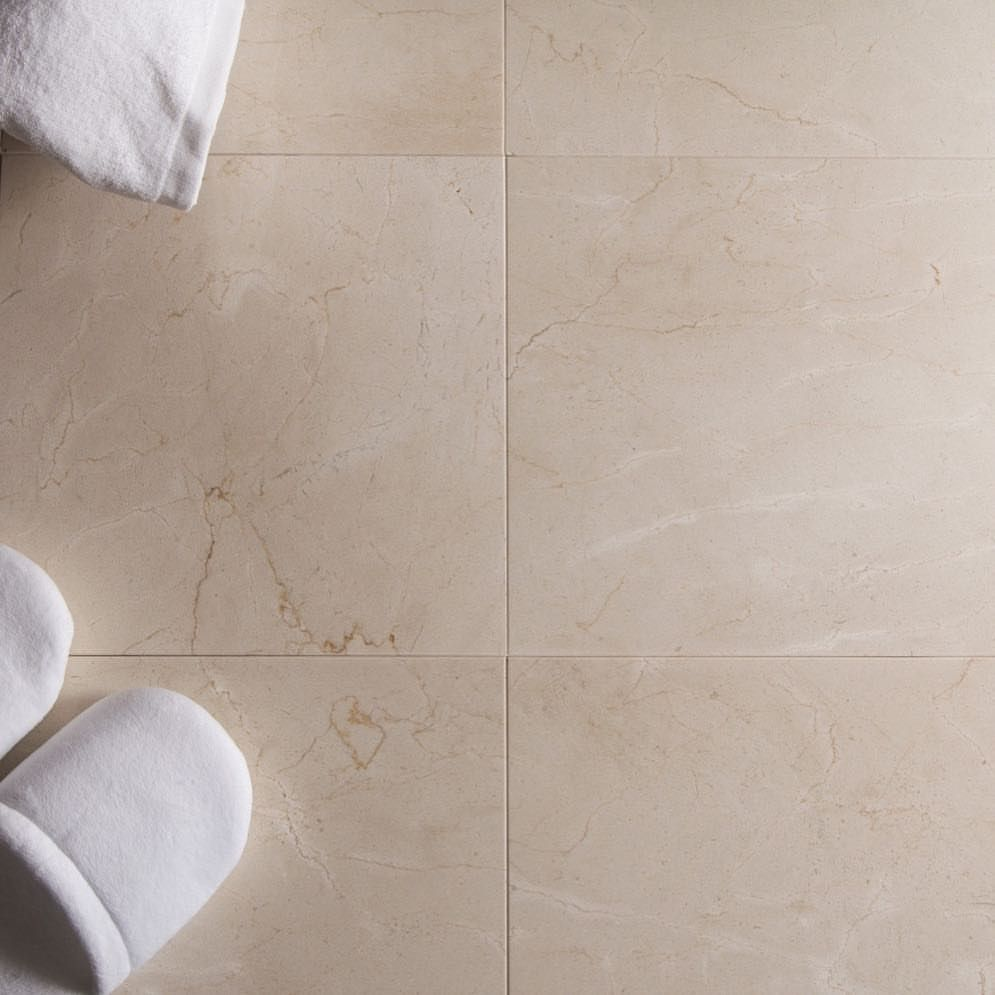 0 Likes 1 Comments Tilebuys Com Tilebuys On Instagram Crema Marfil Is A Great Choice For Bathroom Tile For Real Estate Investors Looking To Flip A Home