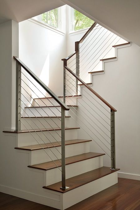 Best Nice Newell Starts On First Step Wood Handrail Over 640 x 480