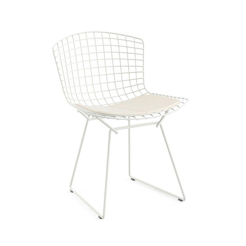 Chaise et petit fauteuil knoll bertoia outdoor avec galette du0027assise sur SILVERA-eshop  sc 1 st  Pinterest : chaise knoll - Sectionals, Sofas & Couches