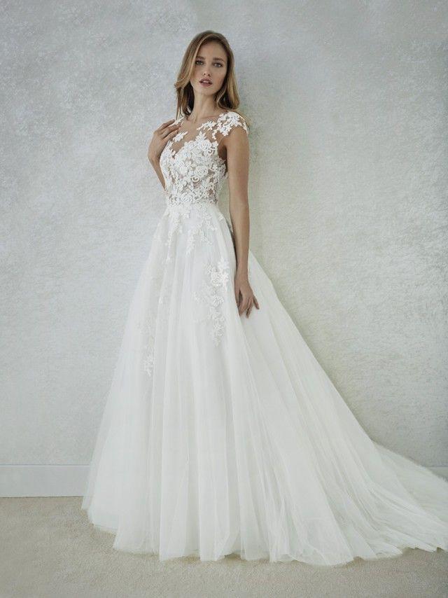 Trouwjurk White One Felicidad | Mariage | Pinterest | Wedding ...