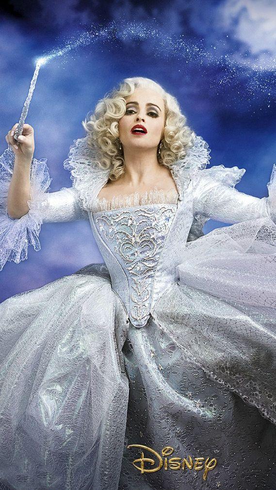 Helena Bonham Carter Fairy Godmother Google Search Gute Fee Cinderella Der Pate