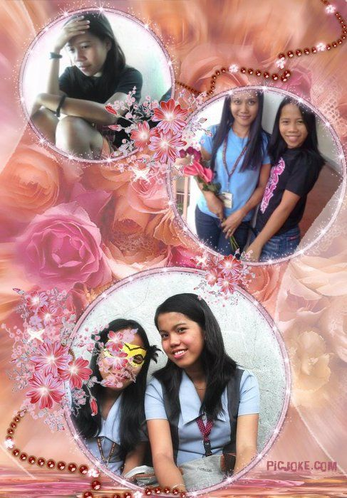 my pic.together with my beautiful friend al and chui...