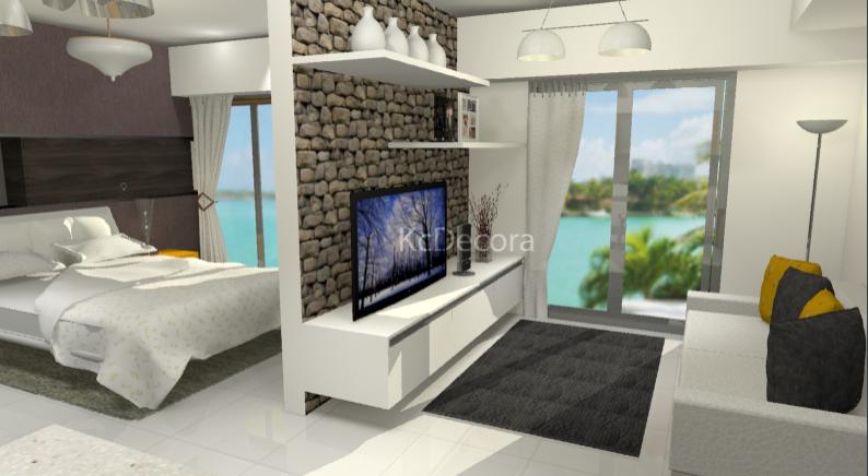 Dise o de moderno apartamento tipo estudio diseno de for Decoracion de interiores apartamentos tipo estudio
