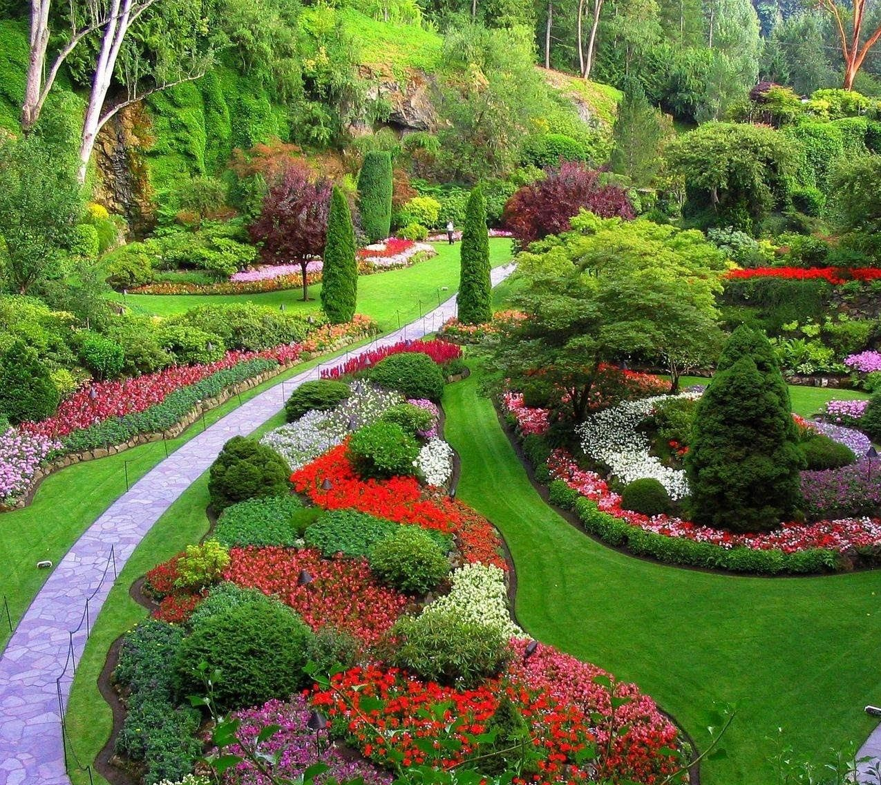 How to Decorate Home Gardens Pictures | Garden decorations ...