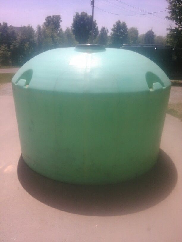 Start Of Our Deer Blind A 1200 Gallon Water Tank Water