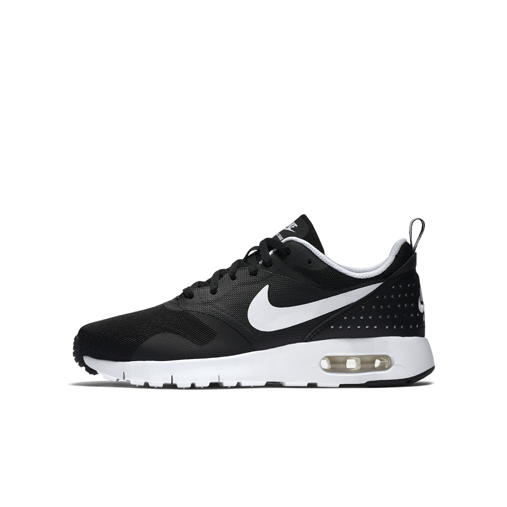 the best attitude 72e90 106d6 Nike Air Max Tavas Big Kids  Shoe Size 4.5Y (Black)