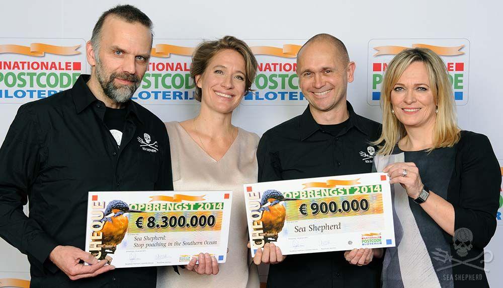 Sea Shepherd receives 8.3 million Euros from the Dutch