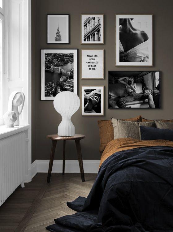 Photo of Ispirazione di design e murales per la camera da letto Desenio