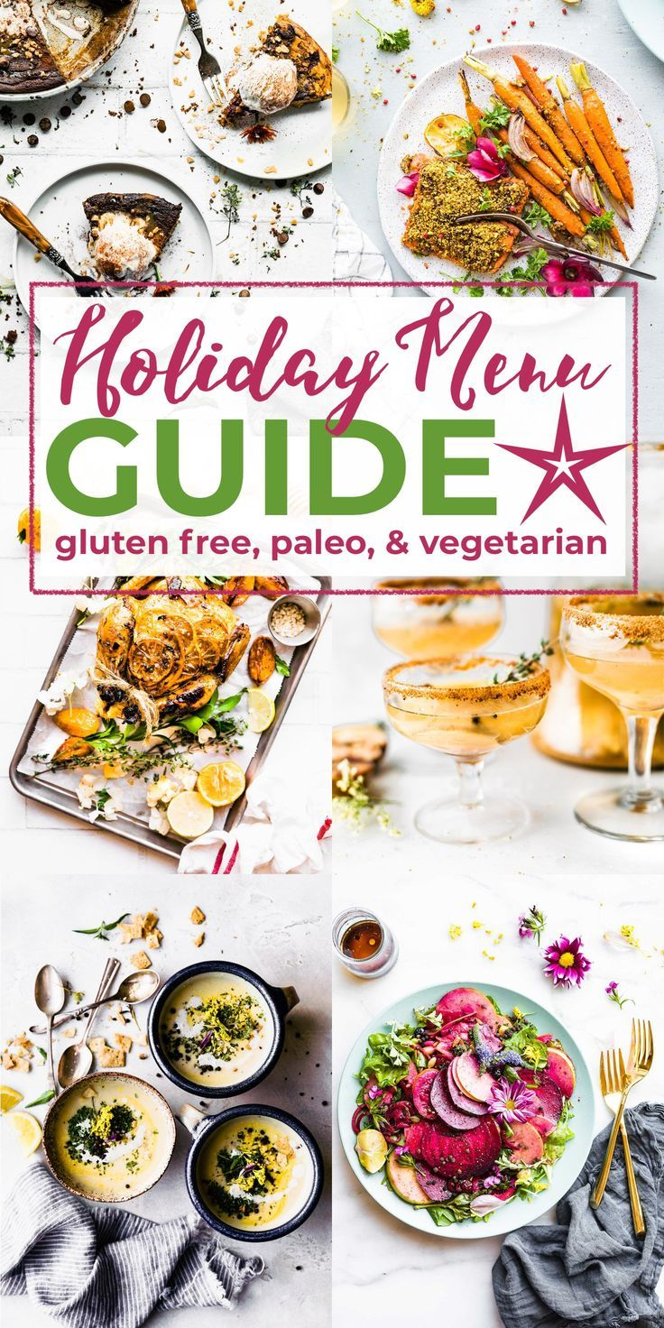 2018 Holiday Menu Planning Guide With Recipes Healthy Meal