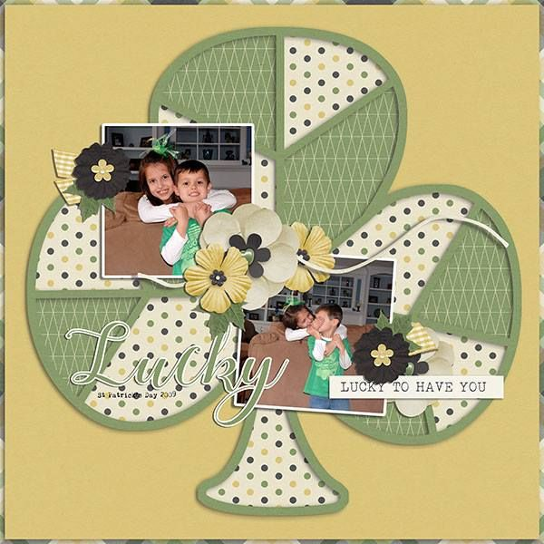 Layout created with March Sectional Templates from Miss Fish Templates