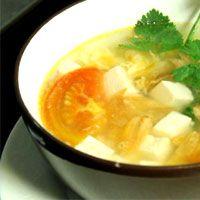 Resep Sup Tahu Tomat Enak Masakan Vegetarian Resep Sup Makanan Dan Minuman