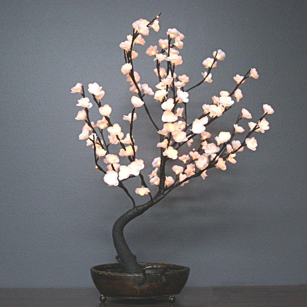 Light Garden 00041 Bnswt128 Electric Lighted Bonsai Tree Bonsai