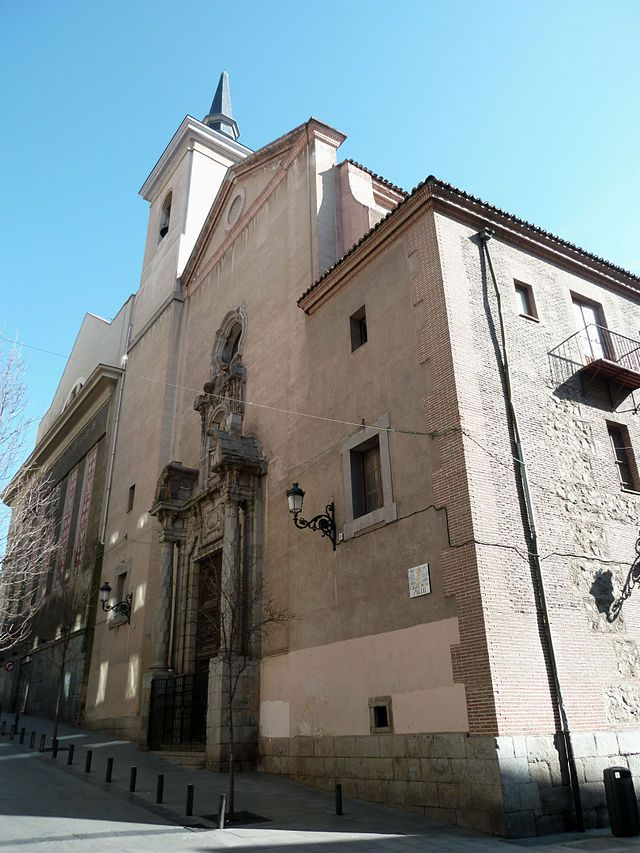 Iglesia De Nuestra Señora Del Carmen Madrid Madrid Ciudad Fotos Antiguas Madrid Imagenes De Madrid