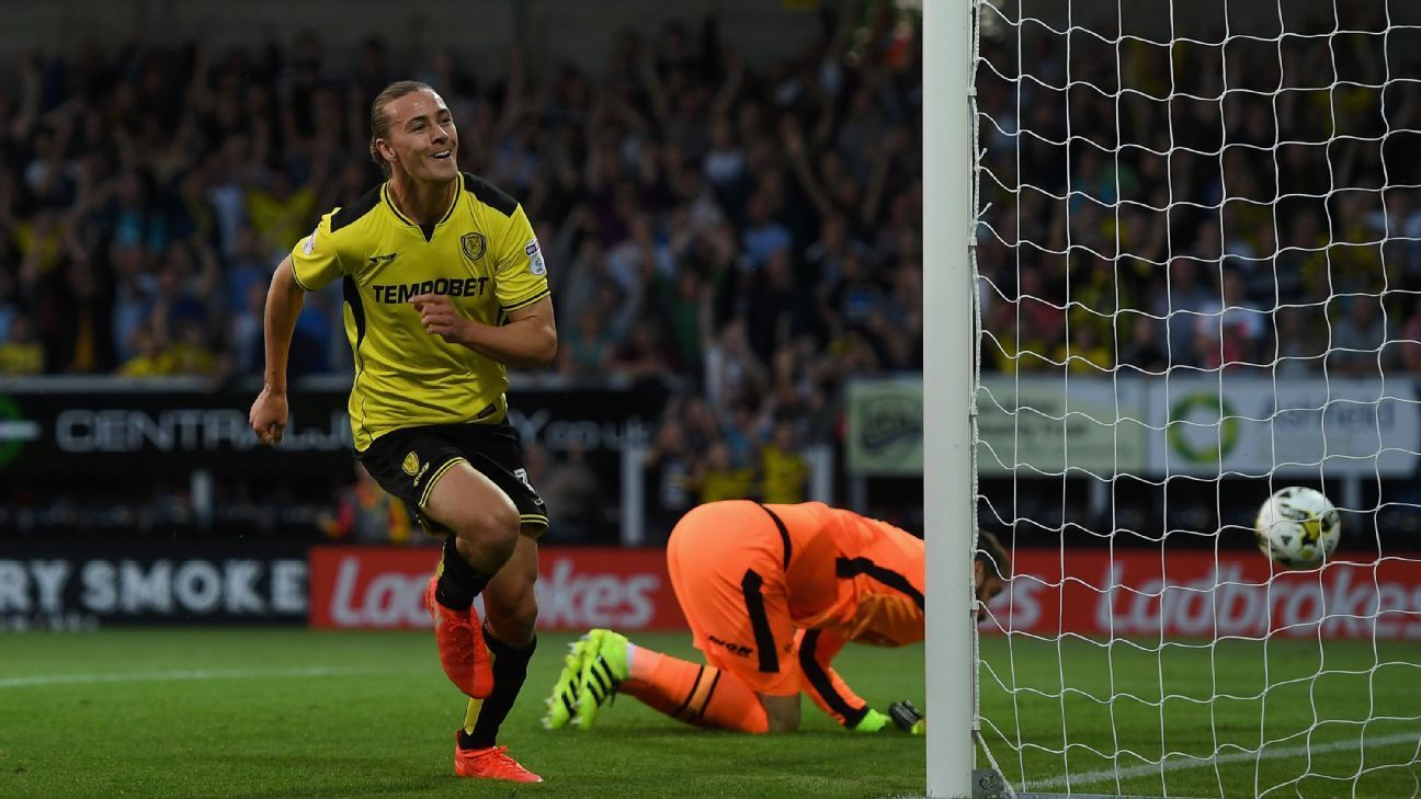 Jackson Irvine Rejected Chinese Millions To Remain With Burton Albion Burton Albion Premier League Transfer News Hull City