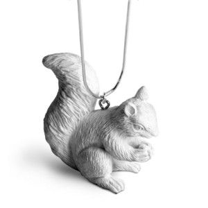 Squirrel Necklace, 46,50€, now featured on Fab.
