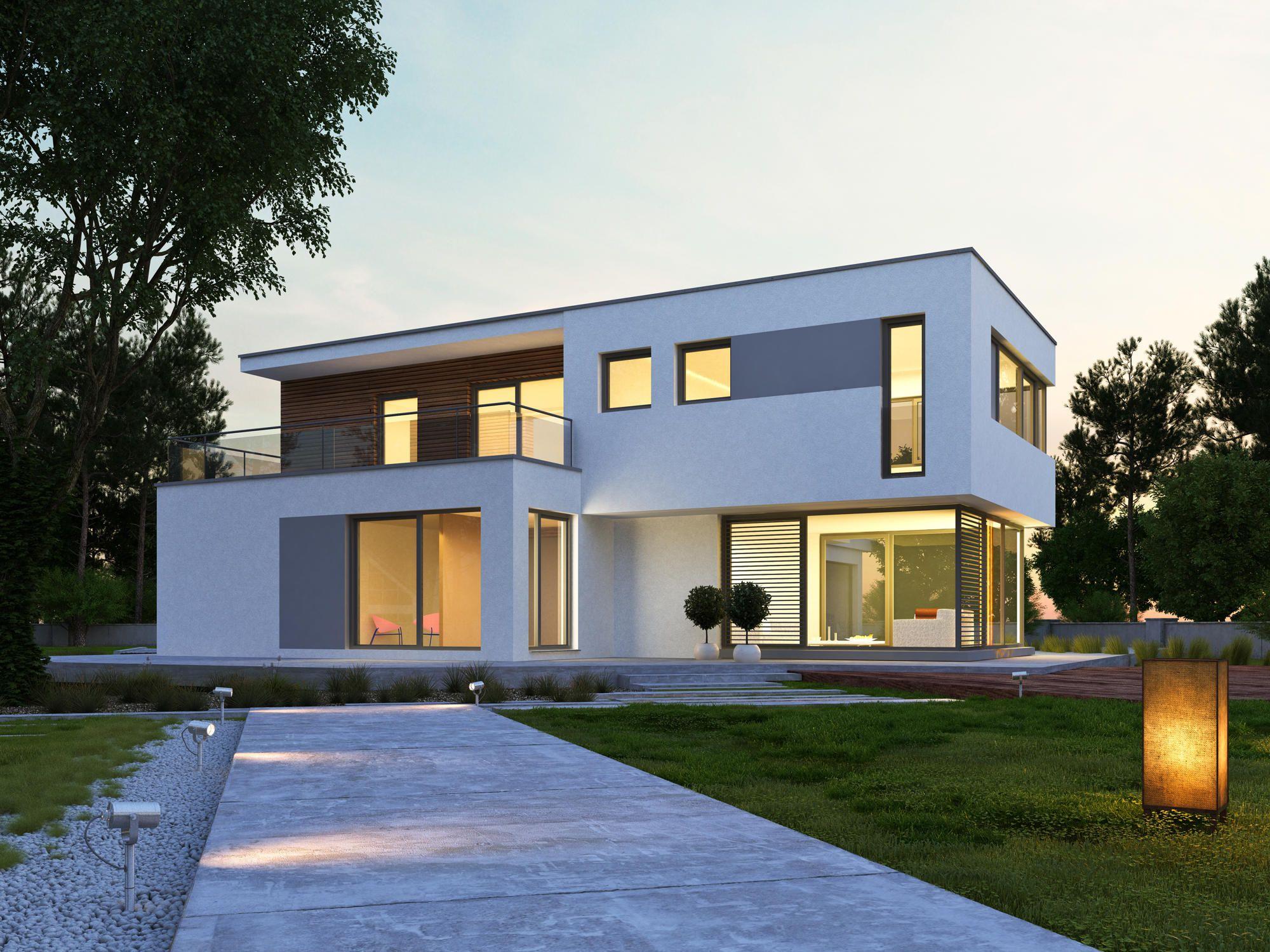 Dieses Architektenhaus mit über 200 m² Grundriss