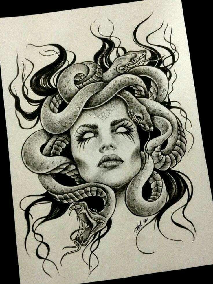 Images about medusa on pinterest medusa art