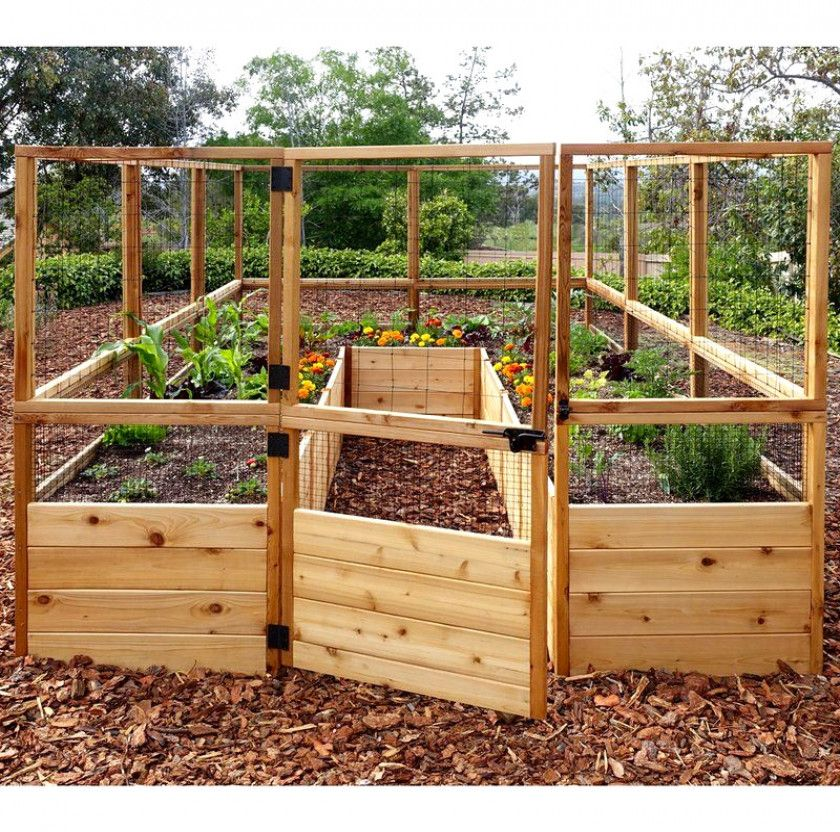 Outdoor Living Today 8ft x 12ft Raised Garden Bed with