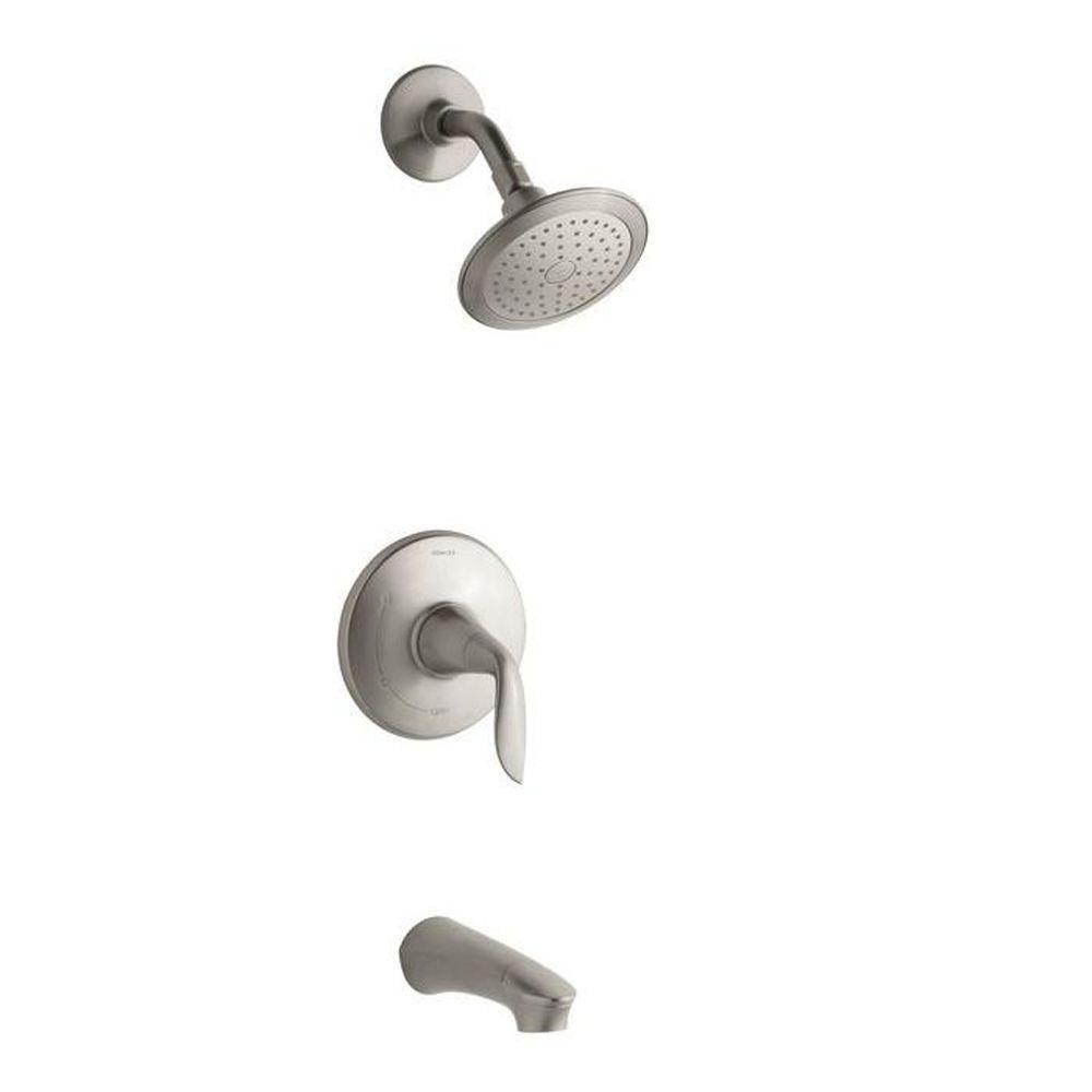 KOHLER Refinia 1-Handle Tub and Shower Trim Kit in Polished Chrome ...
