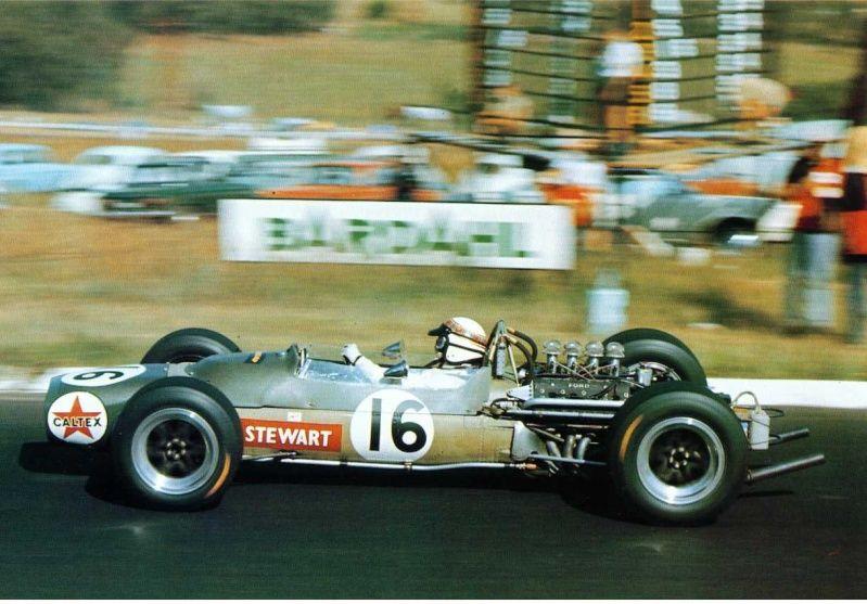 Jackie Stewart Matra MS9 1968 South African Grand Prix