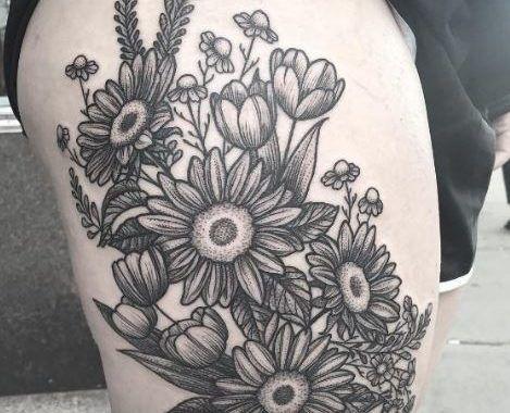 50 Amazing Fl Tattoos Designs For Flower 2017