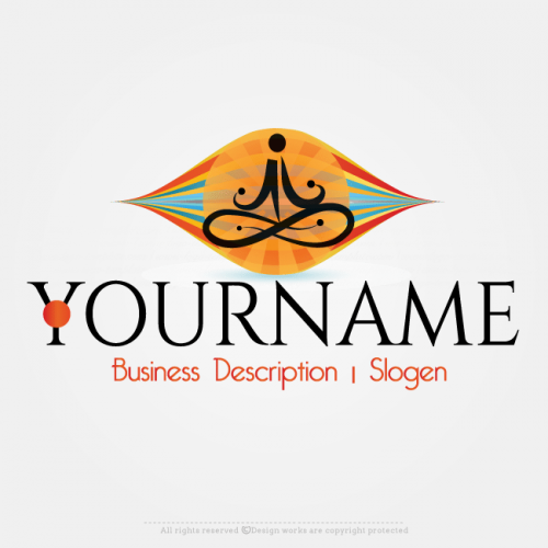 Create A Yoga Logo Template With Our Free Logo Creator Use Our Free Logo Design Software To Cre Online Logo Creator Online Logo Logo Design Software