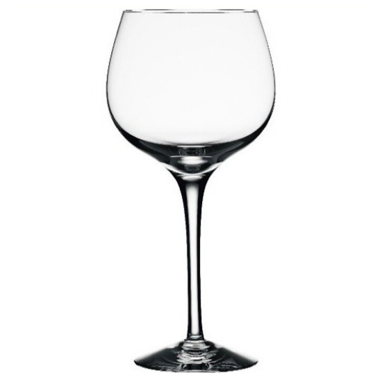 "Orrefors Crystal ""Illusion"" Burgundy Wine Glass"