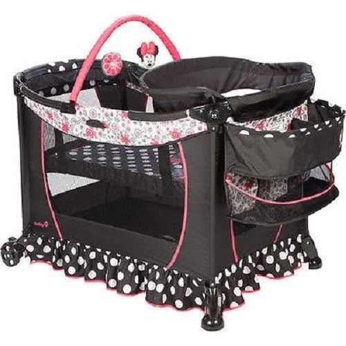 Disney Minnie Mouse Play Yard Playpen Baby Pack-n-Play ...