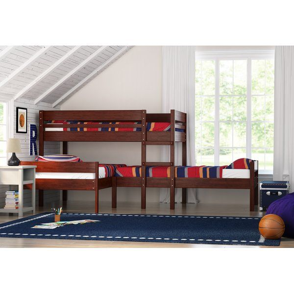 Duncan Twin Triple Bed Furniture Triple Bed Bunk Bed With Trundle Triple Bunk Beds